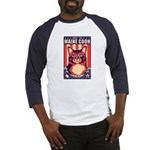 Obey the Maine Coon Cat! Baseball Jersey