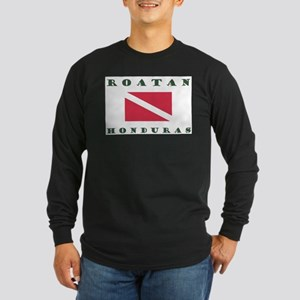 Roatan Dive Design Long Sleeve T-Shirt