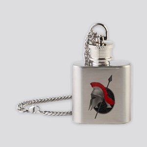 Spartan Flask Necklace