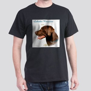 Chocolate Lab Best Friend Ash Grey T-Shirt