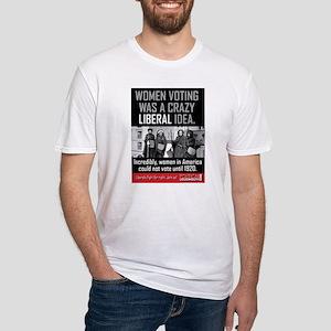His -Women voting:crazy liberal idea T-Shirt