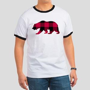 Buffalo Plaid Bear T-Shirt