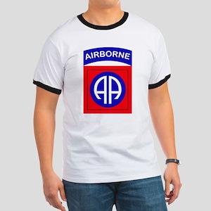 82nd Airborne Division Logo Ringer T