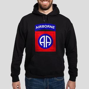 82nd Airborne Division Logo Hoodie (dark)