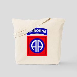 82nd Airborne Division Logo Tote Bag