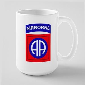 82nd Airborne Division Logo Large Mug
