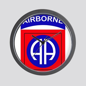 82nd Airborne Division Logo Wall Clock