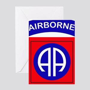 82nd Airborne Division Logo Greeting Card
