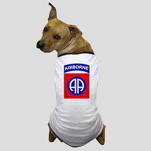 82nd Airborne Division Logo Dog T-Shirt