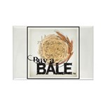 Buy A Bale (Border) Rectangle Magnet (100 pack)