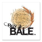 Buy A Bale Square Car Magnet 3