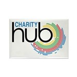 Charity Hub Rectangle Magnet (100 pack)