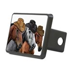 Cowboy Horses Rectangular Hitch Cover