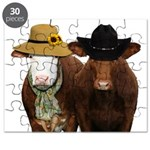 Country Couple Puzzle