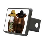 Country Couple Rectangular Hitch Cover