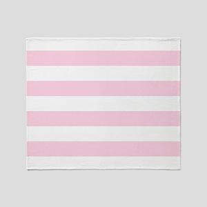 Pink, Baby: Stripes Pattern (Horizon Throw Blanket