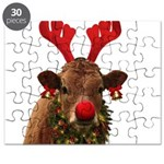 Christmas Cow Puzzle