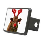 Christmas Cow Rectangular Hitch Cover