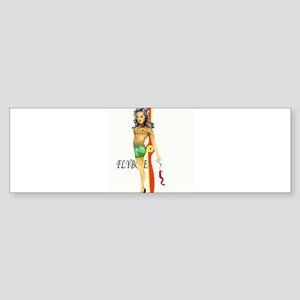Pinup Bumper Sticker