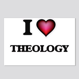 I love Theology Postcards (Package of 8)