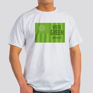 Vote Green Jericho, KS Women's Cap Sleeve T-Shirt