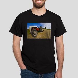 Fisheye Tractor #2 Dark T-Shirt