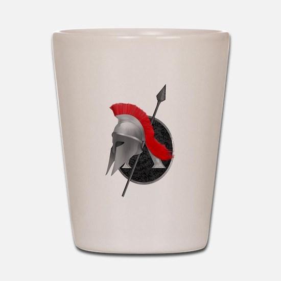 Spartan Shot Glass