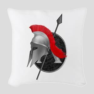 Spartan Woven Throw Pillow