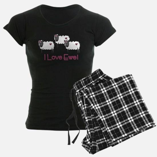 I Love Ewe Pajamas