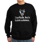 The Devil Promotes Science Sweatshirt (dark)