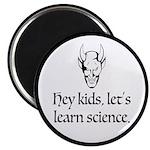 The Devil Promotes Science Magnet