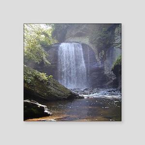 Waterfall, Looking Glass Falls. Sticker
