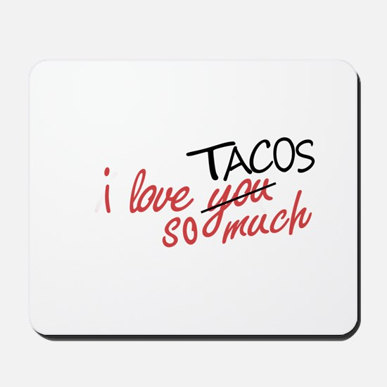 i love you so much [AUSTIN VER.] Mousepad