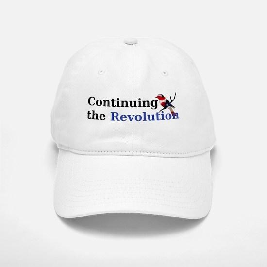 Continuing the Revolution Baseball Baseball Cap