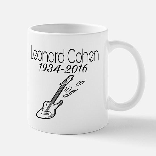 Leonard Cohen 1934-2016 Mugs