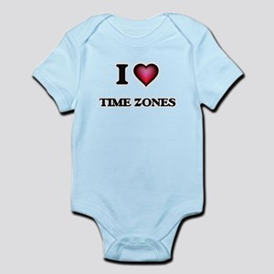 I love Time Zones Body Suit