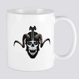 Ram skull biker Mug