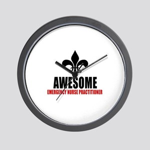 Awesome Emergency physician Wall Clock