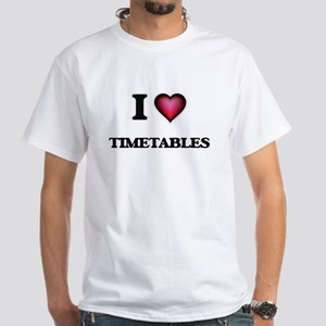 I love Timetables T-Shirt