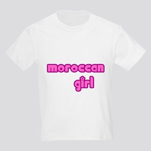 Moroccan Girl Cute Kids Light T-Shirt