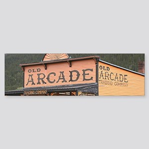 Old Arcade, Silverton, Colorado, US Bumper Sticker