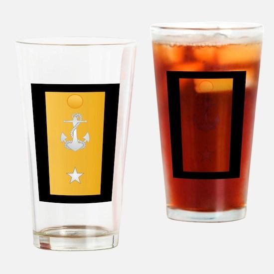 O-7 RDML Rear Admiral Lower Drinking Glass