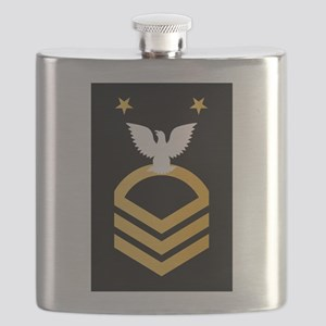 E-9 Fleet-Commander Master Chief Petty Offic Flask