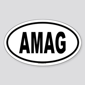 AMAG Oval Sticker