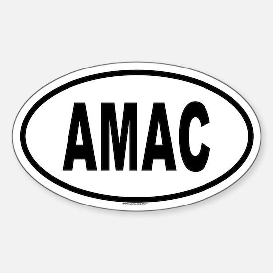 AMAC Oval Decal