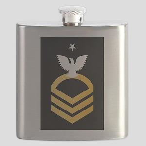 E-8 SCPO Senior Chief Petty Officer Flask