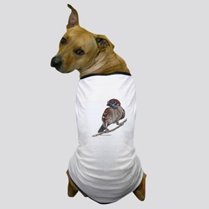 Wren on tree branch Dog T-Shirt