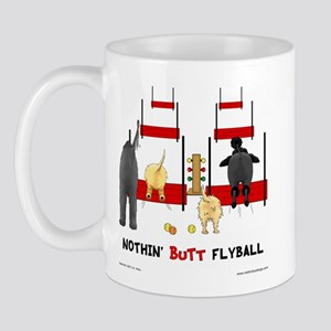 Nothin' Butt Flyball Mug