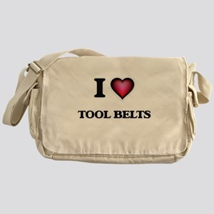 I love Tool Belts Messenger Bag