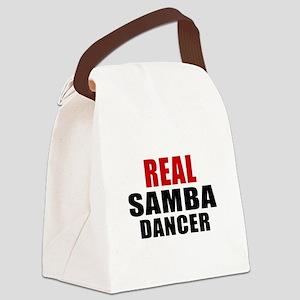 Real Samba Dancer Canvas Lunch Bag